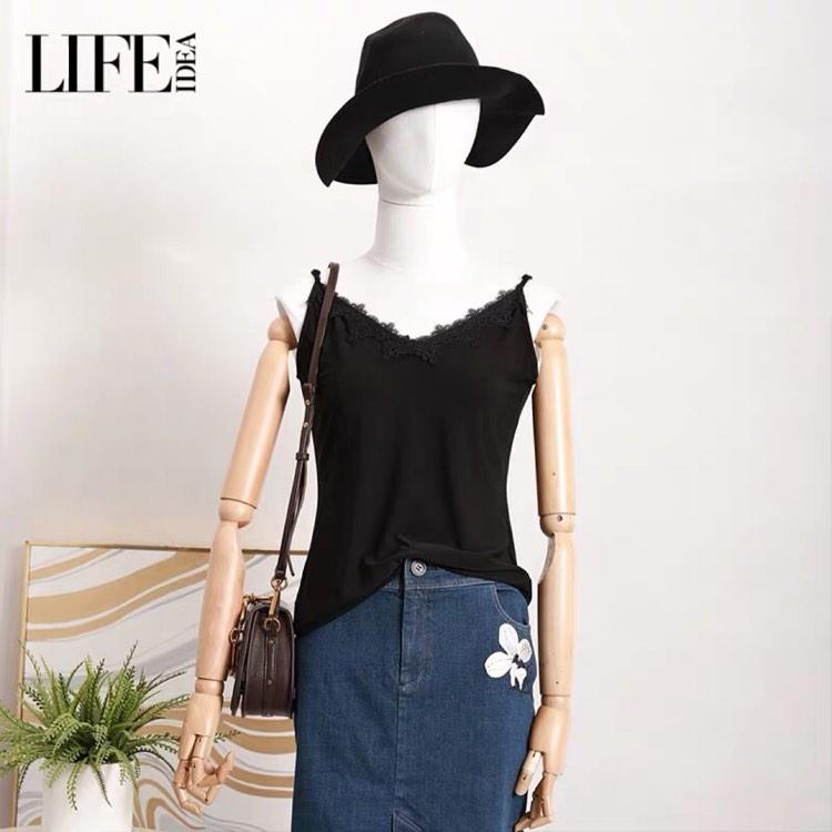 [支持深圳自提]LIFE·IDEA/莱芙·艾迪儿女士时尚吊带背心1Y1B11258